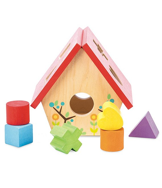 Le Toy Van Petilou Bird House Shape Sorter