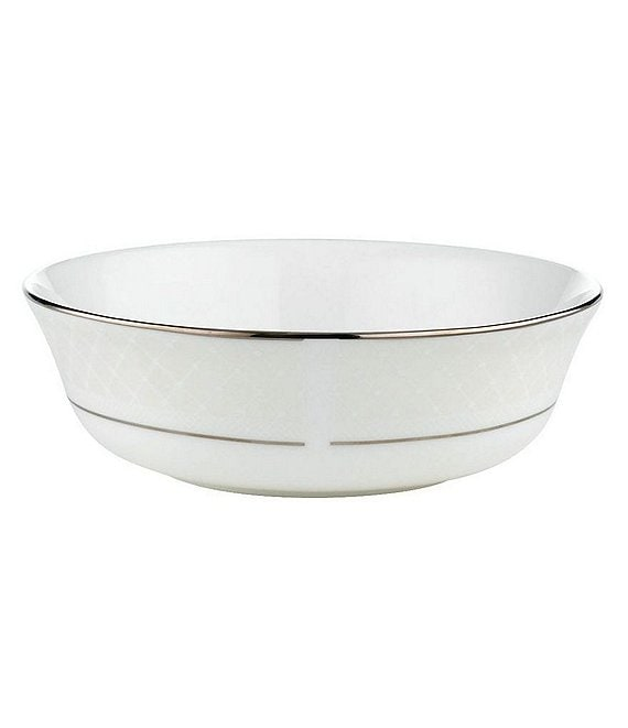 Lenox Venetian Lace Platinum Bone China All-Purpose Bowl