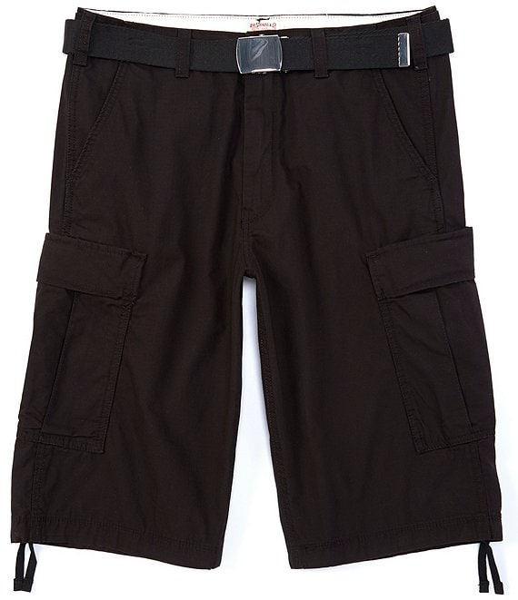 Color:Black - Image 1 - Levi's® 14#double; Inseam Ripstop Shorts