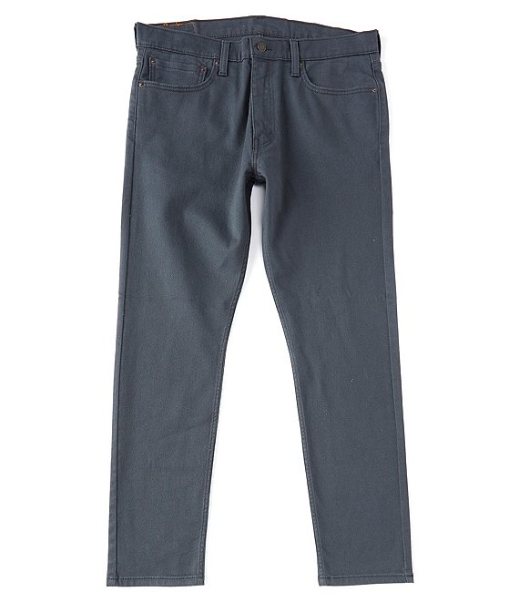 Color:Crew Grey - Image 1 - Levi's® 512 Slim Taper Fit Stretch Jeans