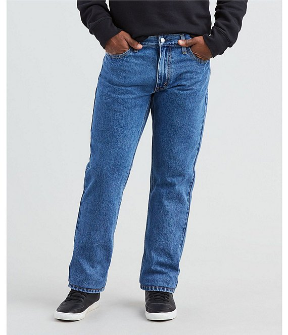 Color:Medium Stonewash - Image 1 - Levi's® 541 Big & Tall Athletic-Fit Tapered Jeans