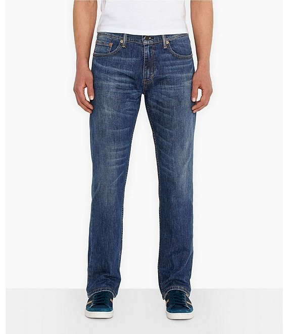 Color:Medium Blue - Image 1 - Levi's® Big & Tall 559 Relaxed Straight Stretch Jeans