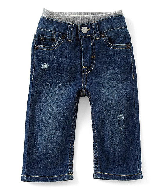 04491078 Levi's® Baby Boys 3-24 Months Murphy Pull-On Denim Pants | Dillard's