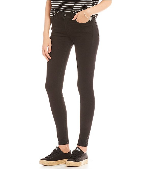 Color:Black - Image 1 - Levi's® 710 Super Skinny Jeans