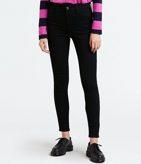 Color:Blackest Night - Image 1 - 720 High Rise Super Skinny Jeans