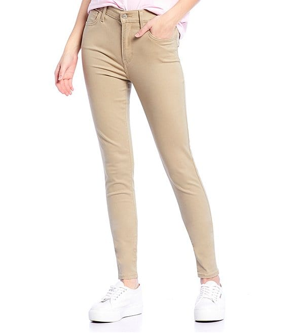 Color:Hypersoft True Chino - Image 1 - 720 High Rise Super Skinny Jeans