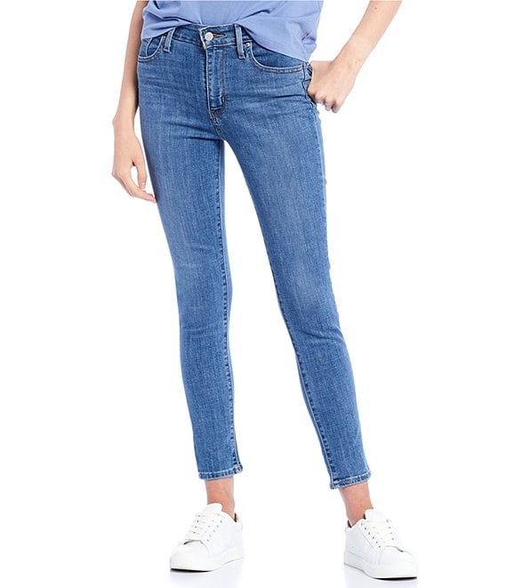Color:Lapis Air - Image 1 - Levi's® 721 High Rise Skinny Jeans