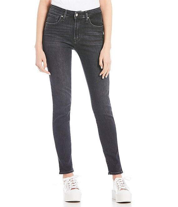 Color:Steady Rock - Image 1 - Levi's® 721 High Rise Skinny Jeans