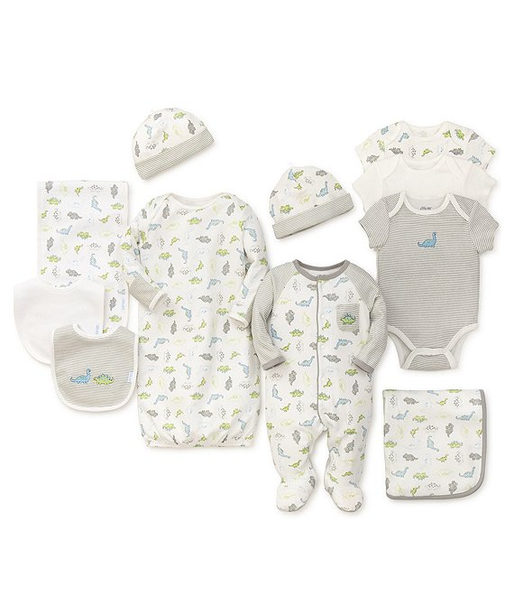 Little Me Baby Boys Preemie-9 Months Tiny Dinos 11-Piece Collection