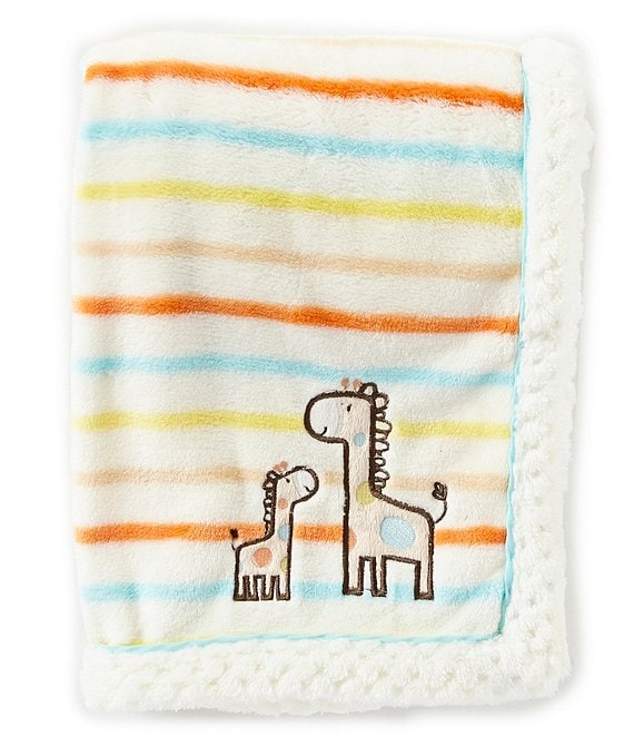 Color:Natural - Image 1 - Baby Giraffe Blanket