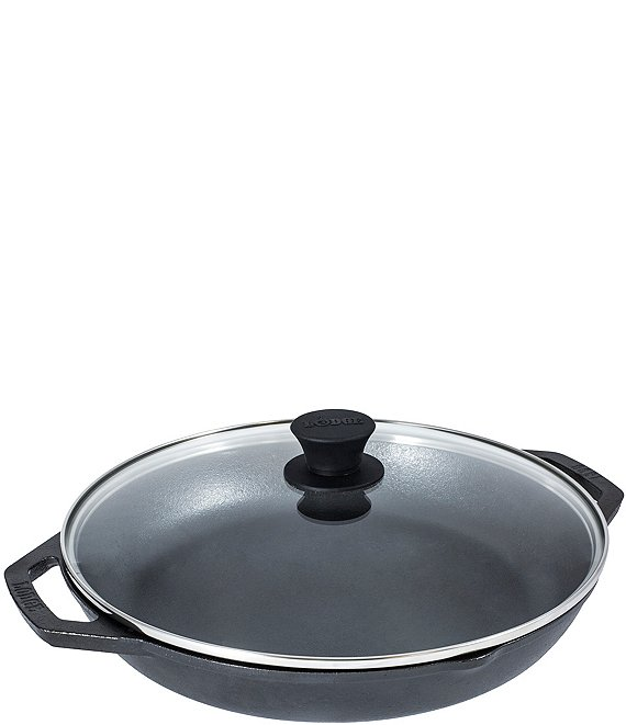Lodge Cast Iron Chef Collection 12 Inch Everyday Pan