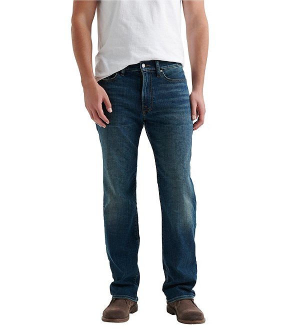 ec001b8d Lucky Brand 363 Ferncreek Straight Fit COOLMAX® Jeans | Dillard's