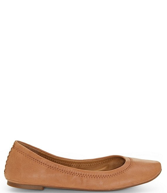 temperament shoes hot sale many styles Lucky Brand Emmie Leather Ballet Flats | Dillard's