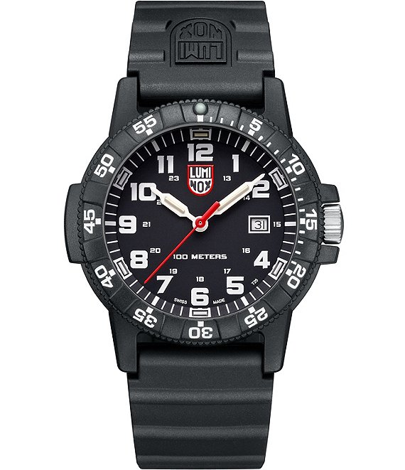 Luminox Sea Turtle Black and White Analog & Date Watch