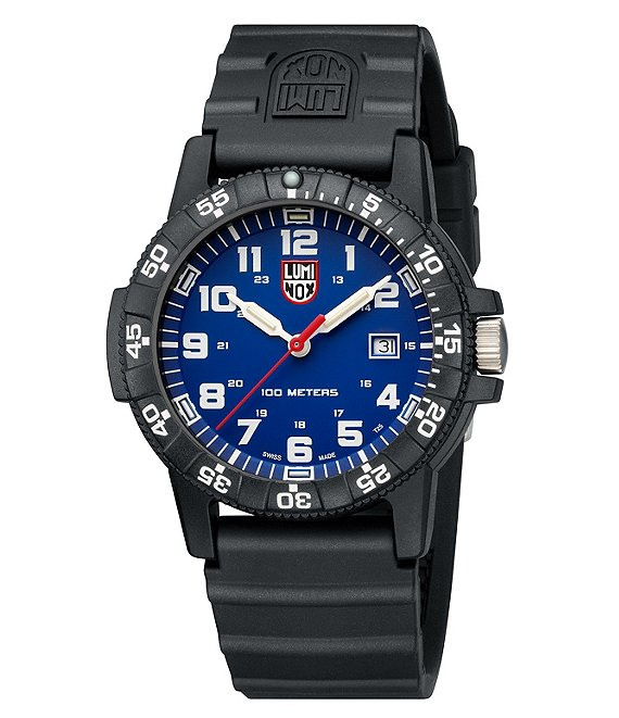 Color:Black - Image 1 - Sea Turtle Signature Strap Watch