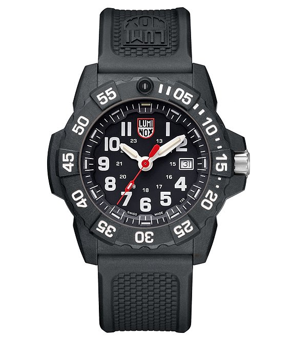 Color:Black - Image 1 - Trident Analog & Date Watch