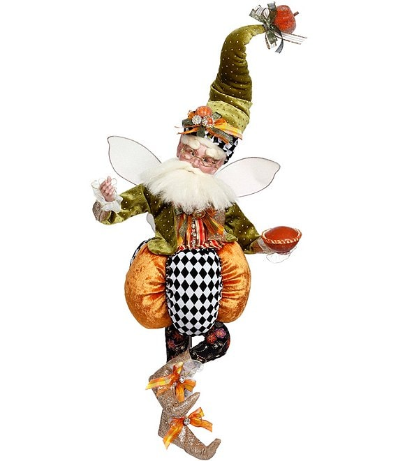 Mark Roberts Festive Fall Collection Pumpkin Pie Large Fairy