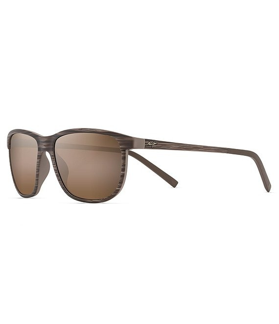 Color:Brown Stripe - Image 1 - Dragon's Teeth Polarized Plus2® Classic 58mm Sunglasses