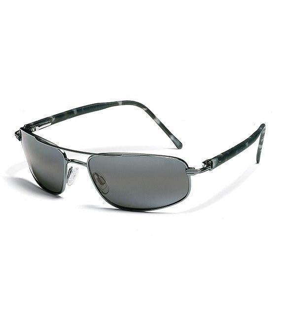 56f896c2b33 Maui Jim Kahuna Double Bridge Glare and UV Protection Polarized Sunglasses  | Dillard's