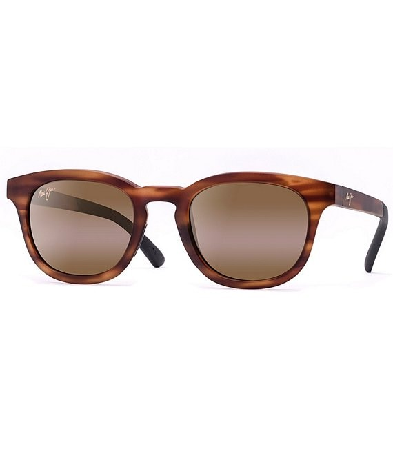 Maui Jim Koko Head Polarized Mirrored Round Sunglasses