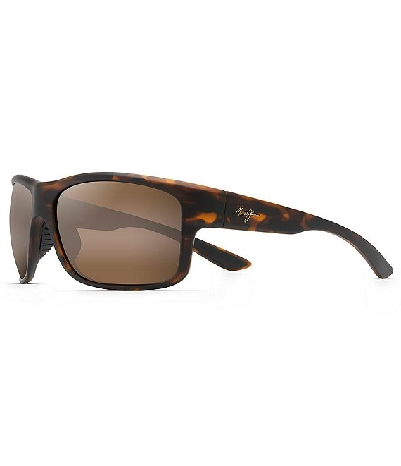 Color:Matte Tortoise Rubber - Image 1 - Southern Cross PolarizedPlus2® 66mm Sunglasses