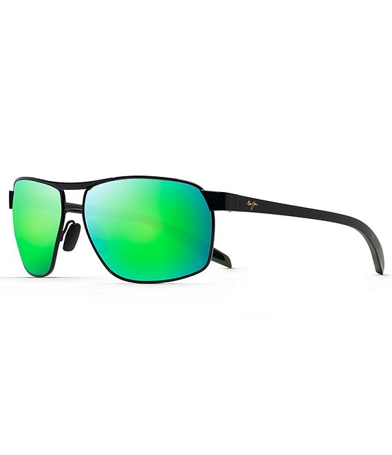 Color:Black - Image 1 - The Bird PolarizedPlus2® Round 61mm Sunglasses
