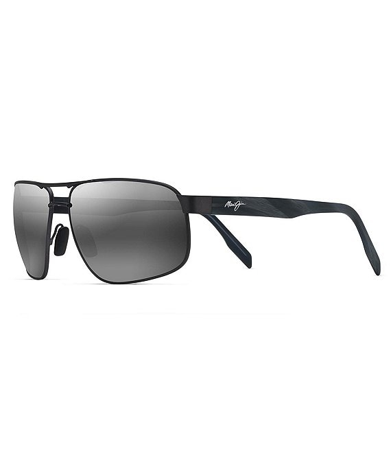 Color:Dark Gunmetal - Image 1 - Whitehaven PolarizedPlus2® Aviator 63mm Sunglasses