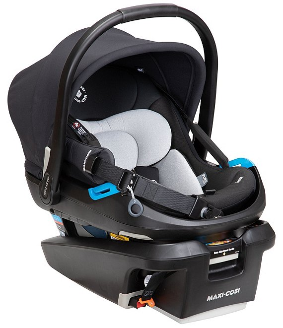 Color:Essential Black - Image 1 - Coral XP Infant Car Seat