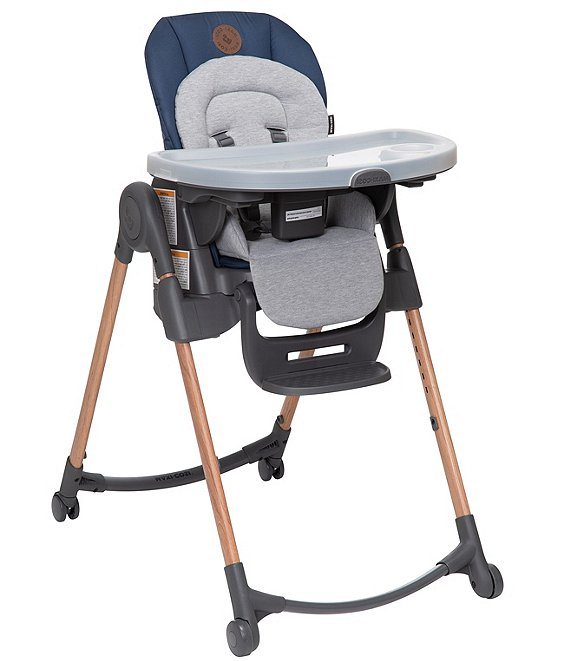 Color:Essential Blue - Image 1 - Minla 6-in-1 Adjustable High Chair