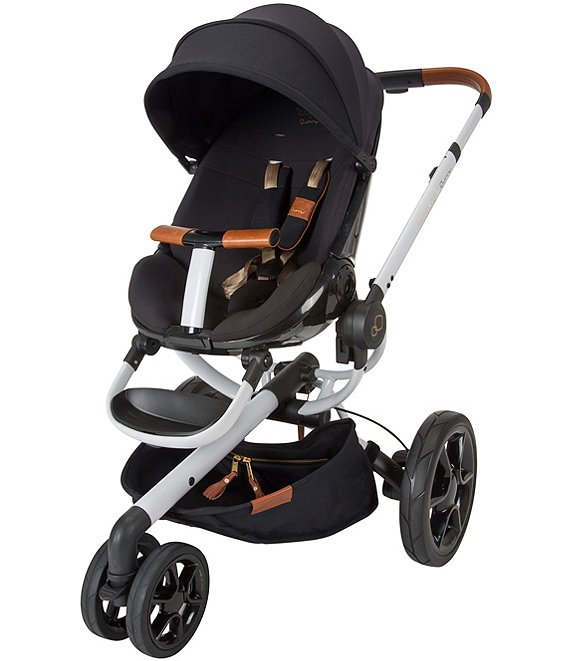 Color:Black/White/Brown - Image 1 - Quinny Stroller by Rachel Zoe