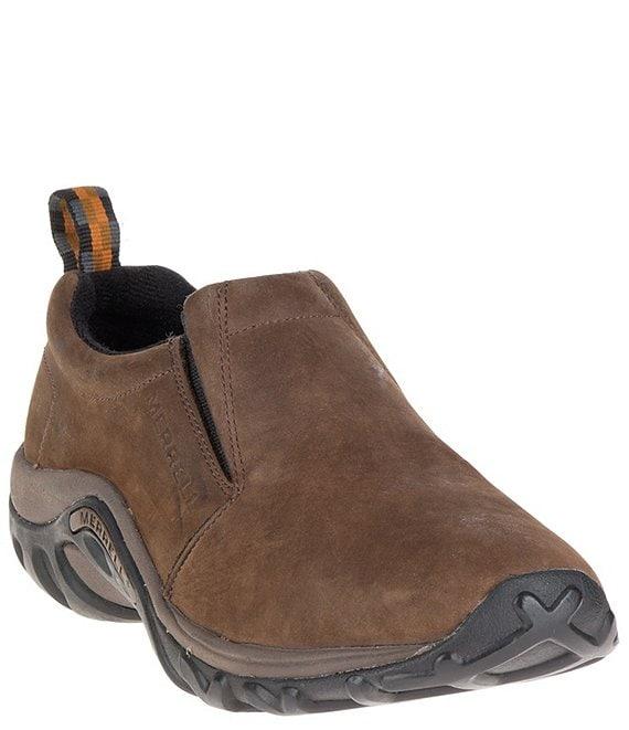 a218793db2c5a Merrell Men's Jungle Moc Nubuck Leather Shoes   Dillard's