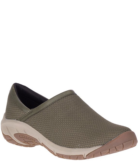 Color:Olive - Image 1 - Women's Encore Breeze Moc Slip Ons