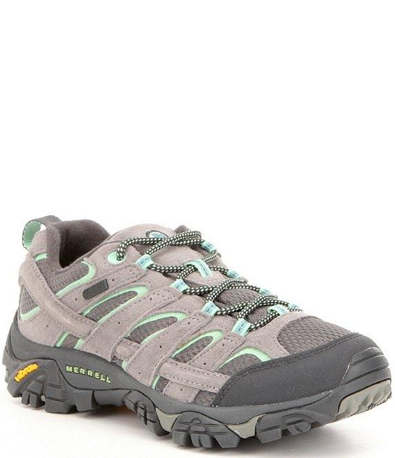 2e99c6e822 Merrell Women's Moab 2 Waterproof Suede and Mesh Hiking Shoes