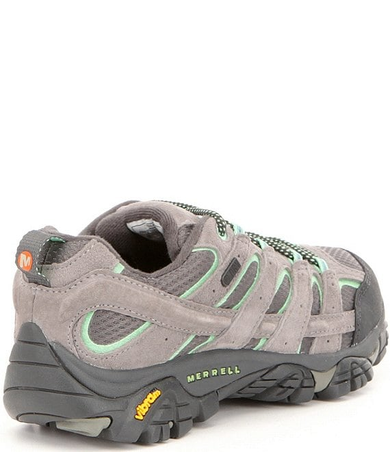 Merrell Women's Moab 2 Waterproof Suede and Mesh Hiking Shoes