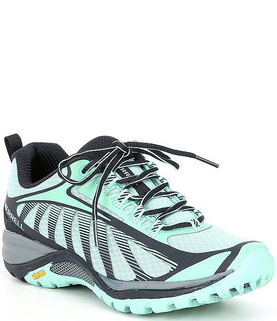 Color:Navy/Wave - Image 1 - Women's Siren Edge 3 Mesh Trail Runners