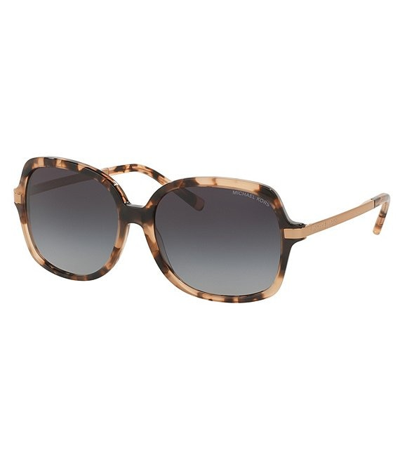 Michael Kors Adrianna II Oversized Square Sunglasses