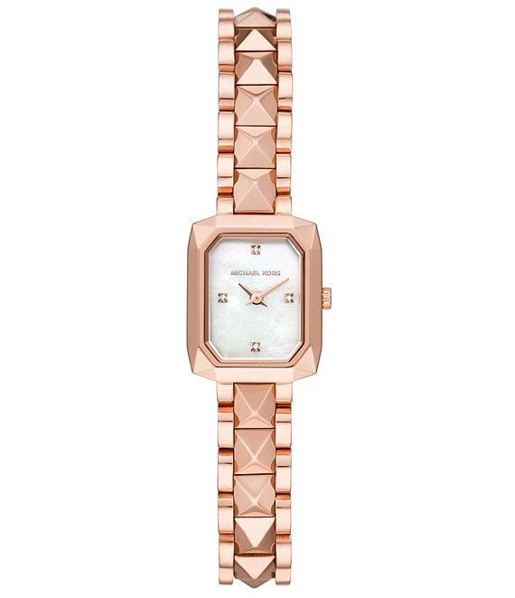 Color:Rose Gold - Image 1 - Alane Two-Hand Rose Gold-Tone Stainless Steel Watch