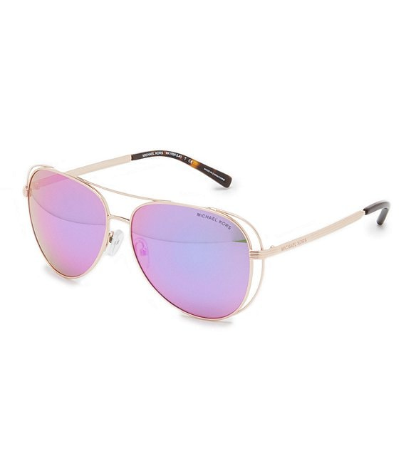 Michael Kors Lai Aviator Sunglasses