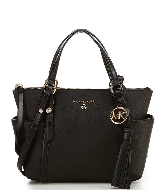 Color:Black - Image 1 - Nomad Small Convertible Top Zip Tote Bag