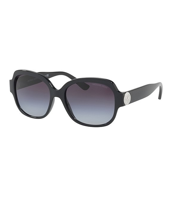 Michael Kors Suz Gradient Oversized Square Sunglasses