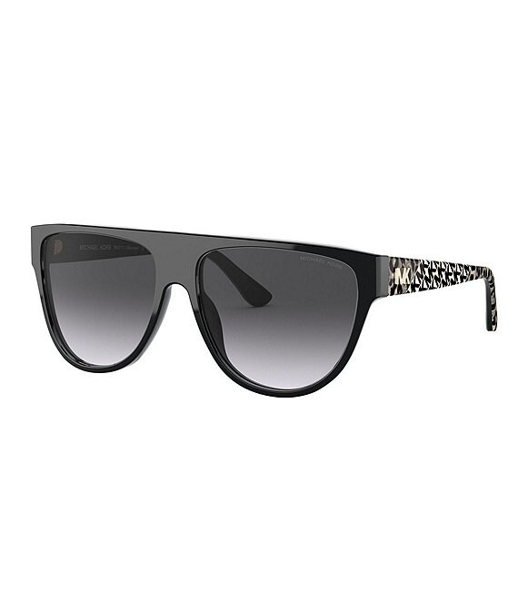 Color:Black - Image 1 - Women's Mk2111 57mm Sunglasses