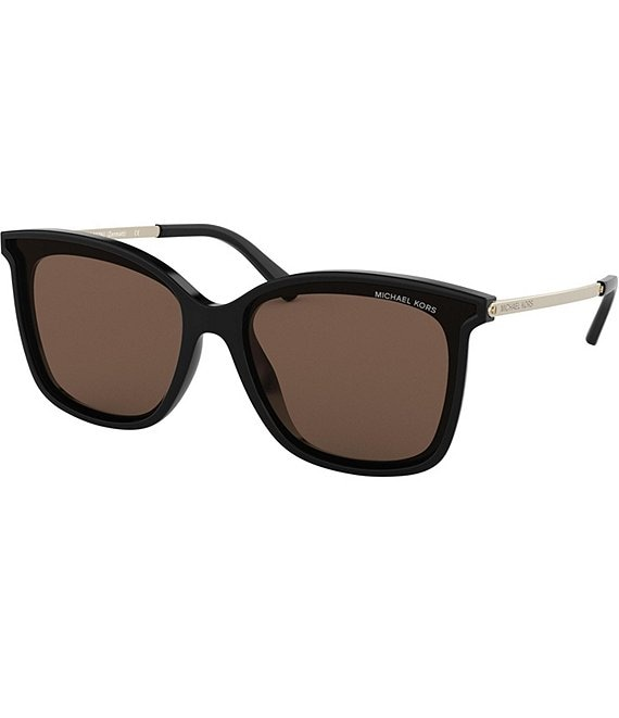 Color:Black - Image 1 - Zermatt Square Sunglasses