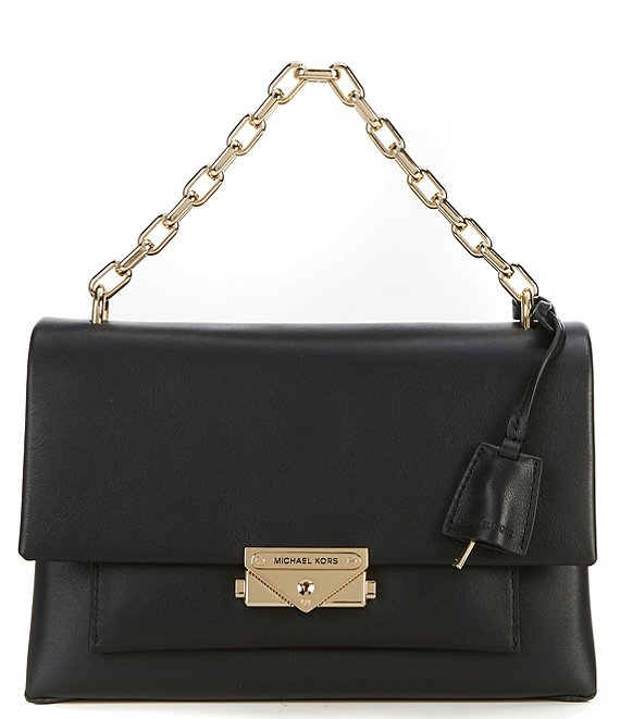 13ed90f3c5dbee MICHAEL Michael Kors Cece Medium Chain Push Lock Shoulder Bag | Dillard's