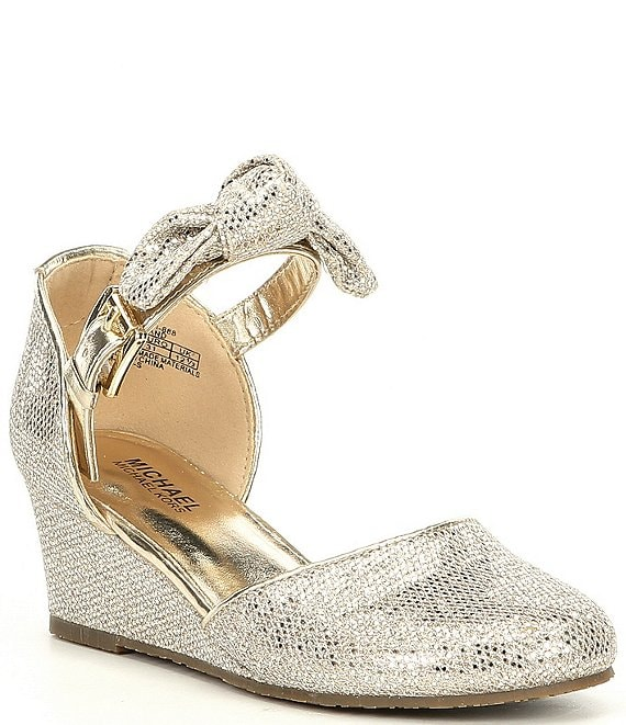 MICHAEL Michael Kors Girls' Bijou Seti Wedge Dress Shoe
