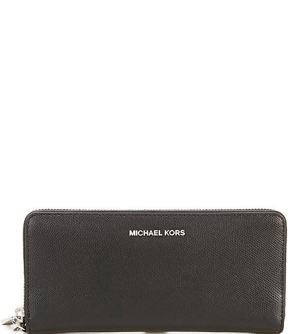 18e0ef6abb MICHAEL Michael Kors Silver-Tone Jet Set Continental Multifunction Phone  Wallet | Dillard's