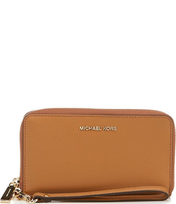 4782d67ab1677e MICHAEL Michael Kors Jet Set Large Flat Multifunction Phone Case | Dillard's