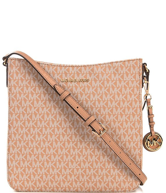 Color:Camel - Image 1 - Jet Set Signature Large Crossbody Bag