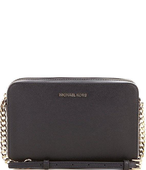 a6db36e3036 MICHAEL Michael Kors Jet Set Travel Large East/West Chain Strap Crossbody  Bag