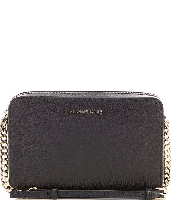 b6a98ca2389ca6 MICHAEL Michael Kors Jet Set Travel Large East/West Chain Strap Crossbody  Bag