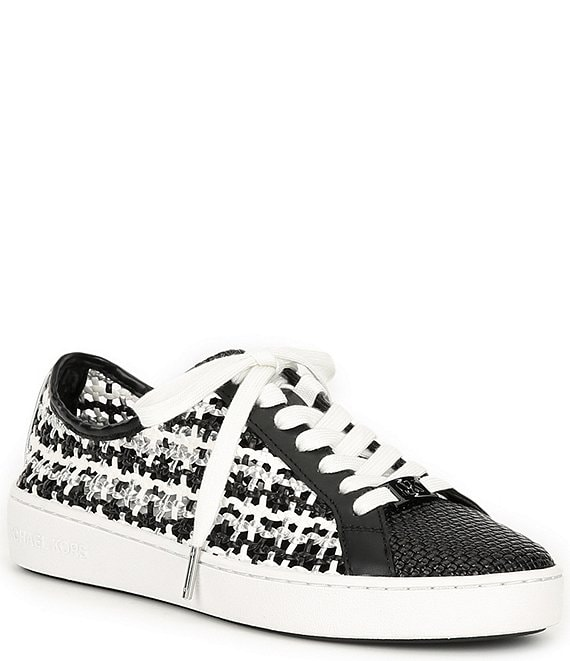 Color:Black - Image 1 - MICHAEL Michael Kors Olivia Sneakers